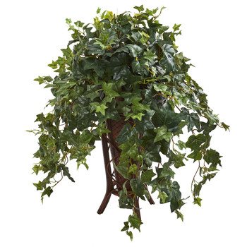 Ivy Artificial Plant in Stand Planter - SKU #8239