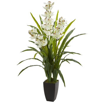 45 Cymbidium Orchid Artificial Plant - SKU #8301
