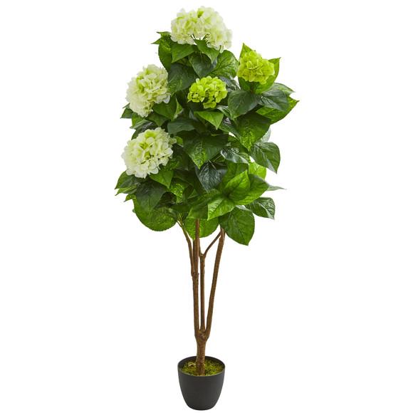 5 Hydrangea Artificial Plant - SKU #8310