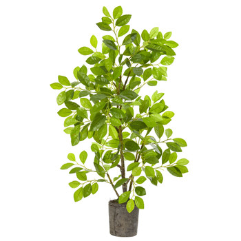 3 Ficus Artificial Tree in Planter - SKU #8329