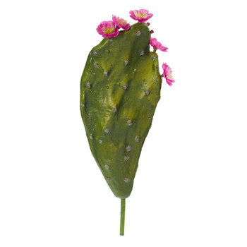 16 Flowering Cactus Artificial Plant Set of 6 - SKU #8332-S6