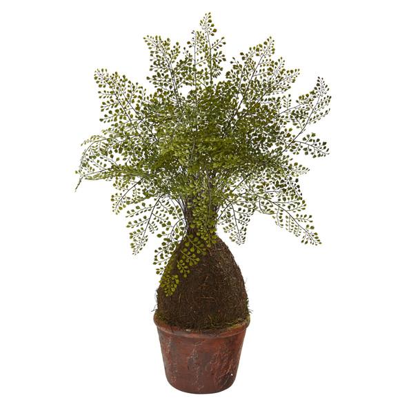 32 Maiden Hair Fern Artificial Plant in Decorative Planter - SKU #8336