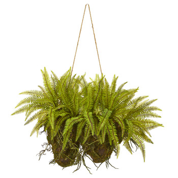 24 Forest Fern Artificial Hanging Plant - SKU #8337
