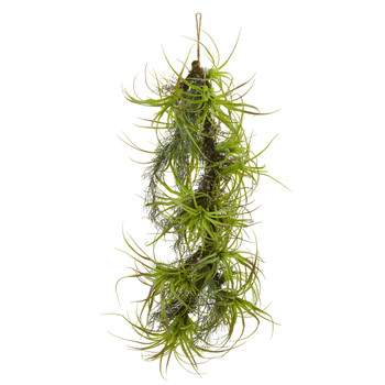 48 Air Plant Artificial Hanging Plant - SKU #8340