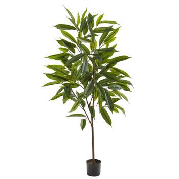 52 Long Leaf Ficus Artificial Plant - SKU #8342
