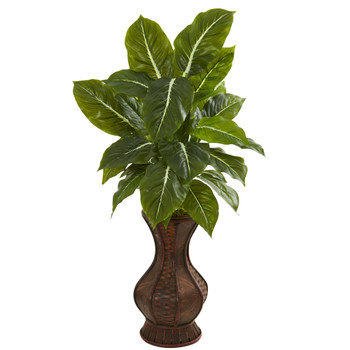 31 Evergreen Artificial Plant in Decorative Planter Real Touch - SKU #8575