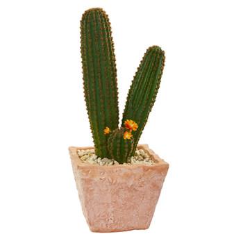 23 Cactus Succulent Artificial Plant in Terra Cotta Planter - SKU #8630