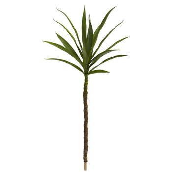 46 Yucca Head Artificial Plant Set of 2 - SKU #8704-S2