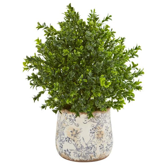 18 Sweet Grass Artificial Plant in Floral Vase Indoor/Outdoor - SKU #8776