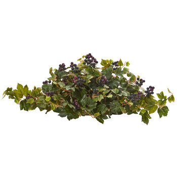 33 Grape Leaf Artificial Ledge Plant - SKU #8899