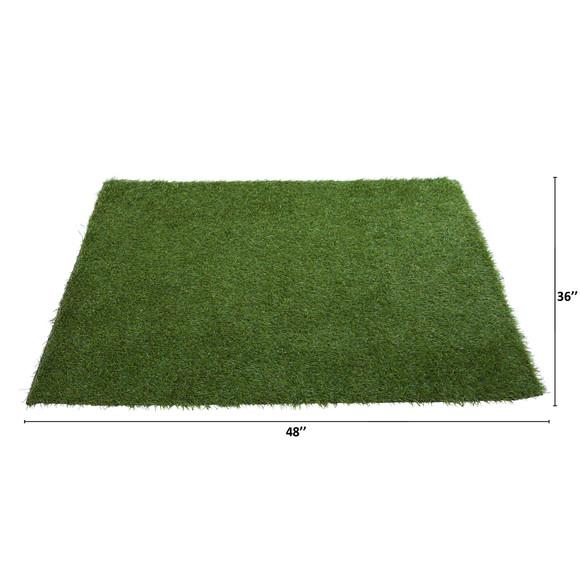 3 x 4 Artificial Professional Grass Turf Carpet UV Resistant Indoor/Outdoor - SKU #8900 - 1