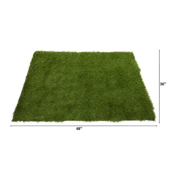 3 x 4 Artificial Professional Grass Turf Carpet UV Resistant Indoor/Outdoor - SKU #8901 - 1