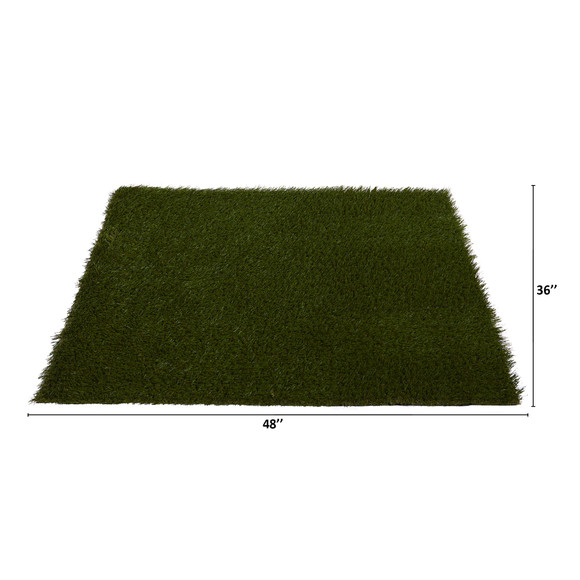 3 x 4 Artificial Professional Grass Turf Carpet UV Resistant Indoor/Outdoor - SKU #8902 - 1