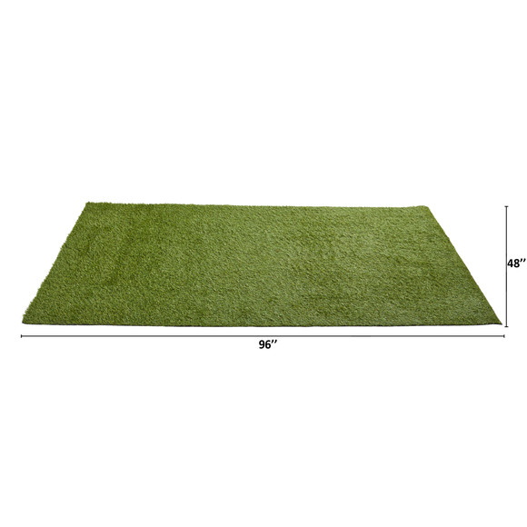 4 x 8 Artificial Professional Grass Turf Carpet UV Resistant Indoor/Outdoor - SKU #8903 - 1