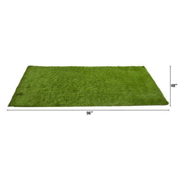 4 x 8 Artificial Professional Grass Turf Carpet UV Resistant Indoor/Outdoor - SKU #8904 - 1