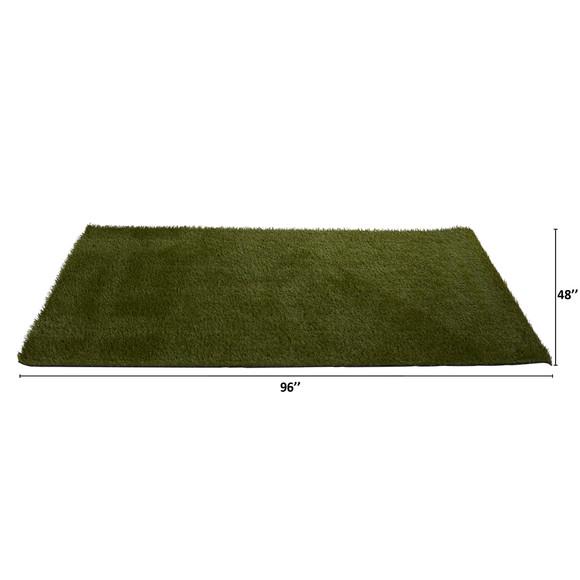 4 x 8 Artificial Professional Grass Turf Carpet UV Resistant Indoor/Outdoor - SKU #8905 - 1