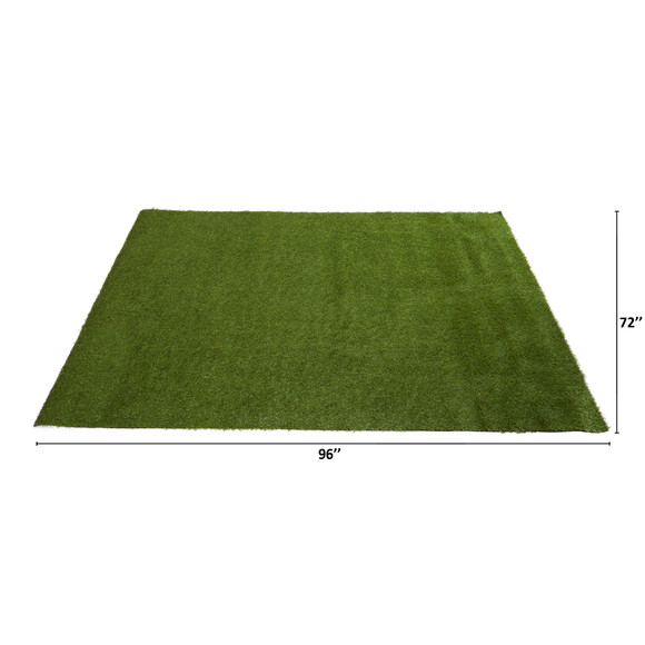 6 x 8 Artificial Professional Grass Turf Carpet UV Resistant Indoor/Outdoor - SKU #8906 - 1
