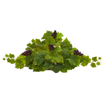 31 Grape Leaf Artificial Ledge Plant - SKU #8910