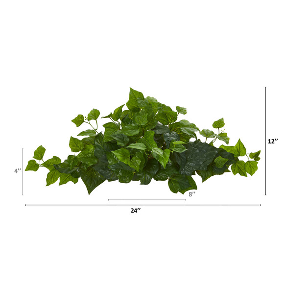 24 London Ivy Artificial Ledge Plant Real Touch - SKU #8913 - 1