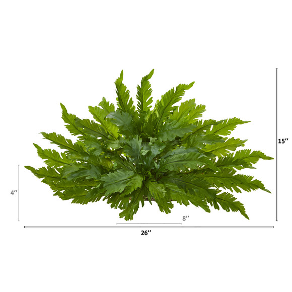 26 Fern Artificial Ledge Plant - SKU #8915 - 1