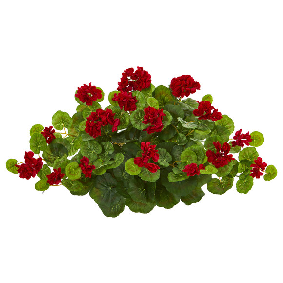 24 Geranium Artificial Ledge Plant - SKU #8940