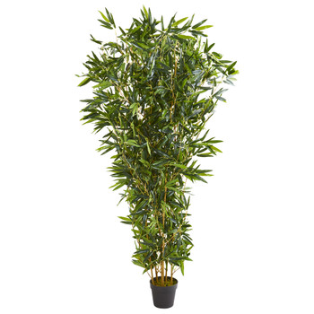 6 Bamboo Artificial Tree Real Touch UV Resistant Indoor/Outdoor - SKU #9102