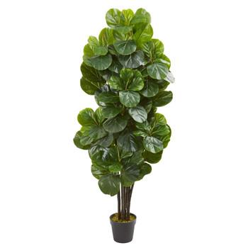 5 Fiddle Leaf Fig Artificial Tree - SKU #9107
