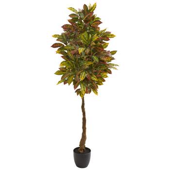 5 Croton Artificial Tree - SKU #9113