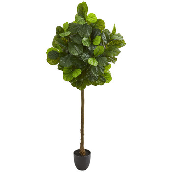 6 Fiddle Leaf Artificial Tree Real Touch - SKU #9114