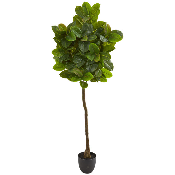 6 Rubber Leaf Artificial Tree Real Touch - SKU #9115