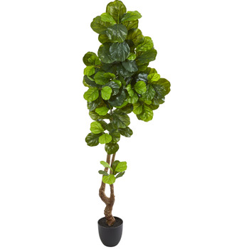 78 Fiddle Leaf Artificial Tree Real Touch - SKU #9116