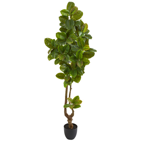 81 Rubber Leaf Artificial Tree Real Touch - SKU #9117