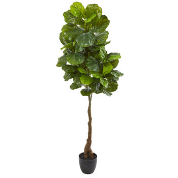64 Fiddle Leaf Artificial Tree Real Touch - SKU #9118