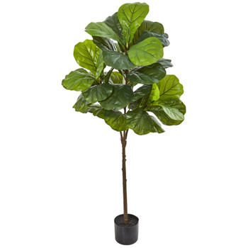 54 Fiddle Leaf Artificial Tree Real Touch - SKU #9121