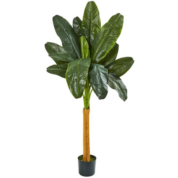 6 Banana Artificial Tree - SKU #9125