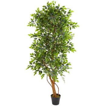 6 Elegant Ficus Artificial Tree - SKU #9128