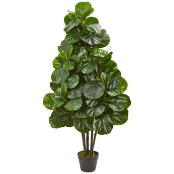 52 Fiddle Leaf Fig Artificial Tree - SKU #9130