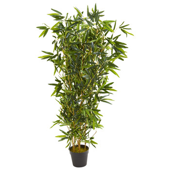 57 Bamboo Artificial Tree Real Touch UV Resistant Indoor/Outdoor - SKU #9135