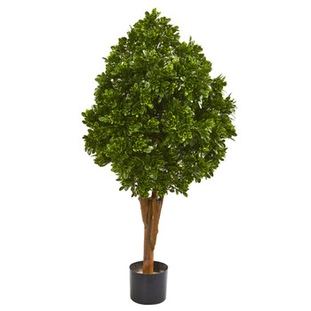 41 Tea Leaf Artificial Tree UV Resistant Indoor/Outdoor - SKU #9143