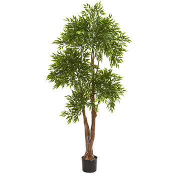 69 Ruscus Artificial Tree UV Resistant Indoor/Outdoor - SKU #9147