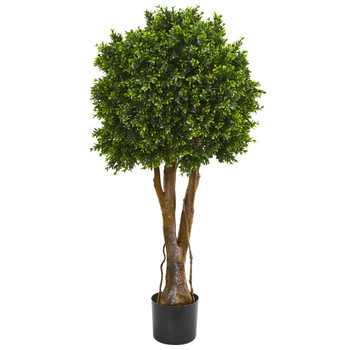 46 Boxwood Artificial Topiary Tree UV Resistant Indoor/Outdoor - SKU #9150