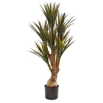 46 Yucca Artificial Tree UV Resistant Indoor/Outdoor - SKU #9151