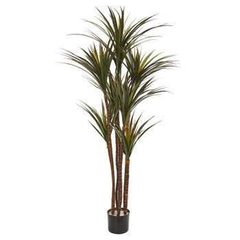 5.5 Giant Yucca Artificial Tree UV Resistant - SKU #9152