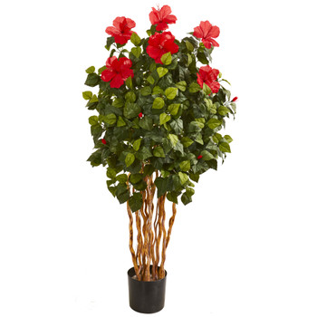 5 Hibiscus Artificial Tree - SKU #9153