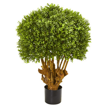 3 Boxwood Artificial Topiary Tree - SKU #9158