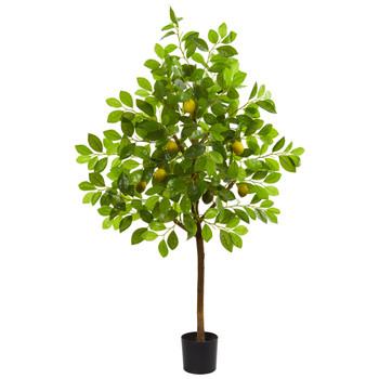 4 Lemon Artificial Tree - SKU #9161