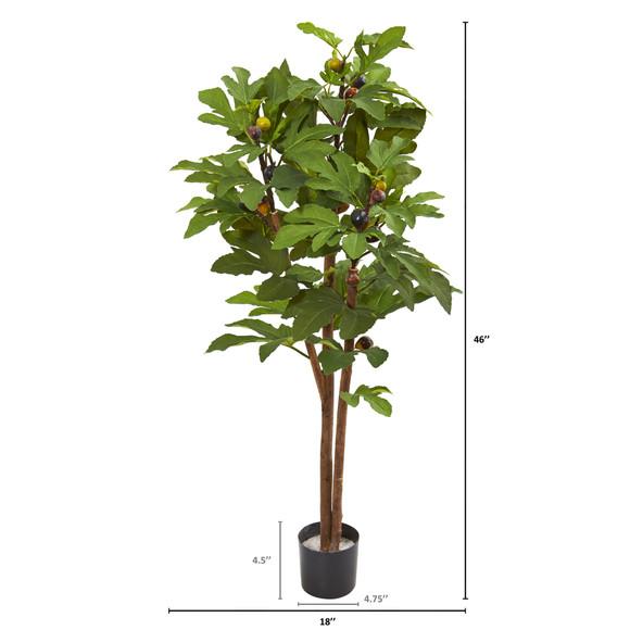 46 Fig Artificial Tree - SKU #9165 - 1