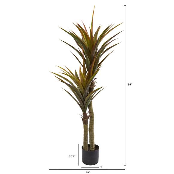 56 Yucca Artificial Tree - SKU #9172 - 1