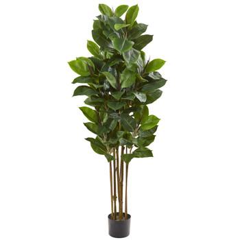 58 Rubber Leaf Artificial Tree - SKU #9175