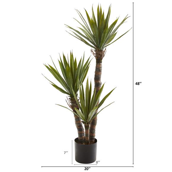 4 Yucca Artificial Tree - SKU #9180 - 1